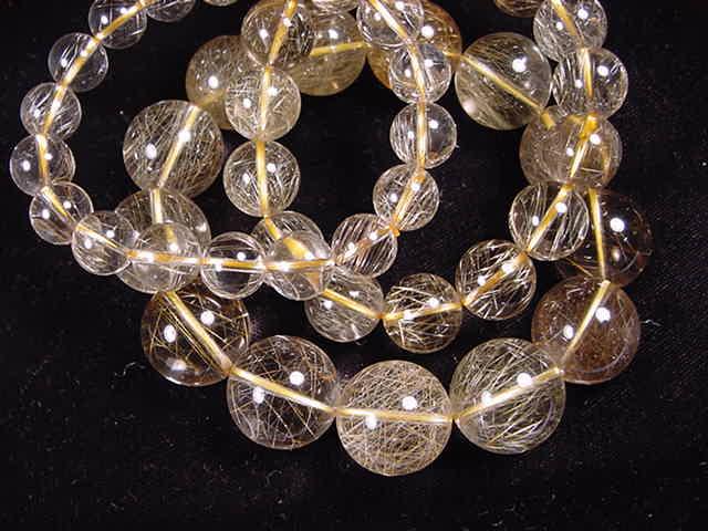 Golden quartz bracelet GDB315