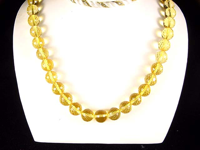 N010 Citrine necklace