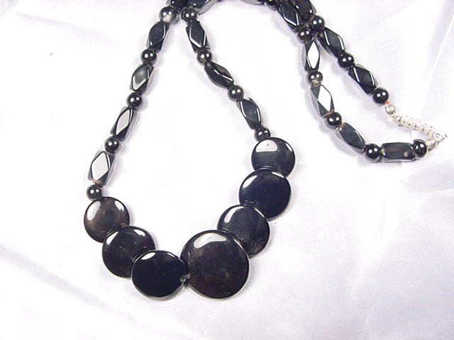 N072 Agate necklace