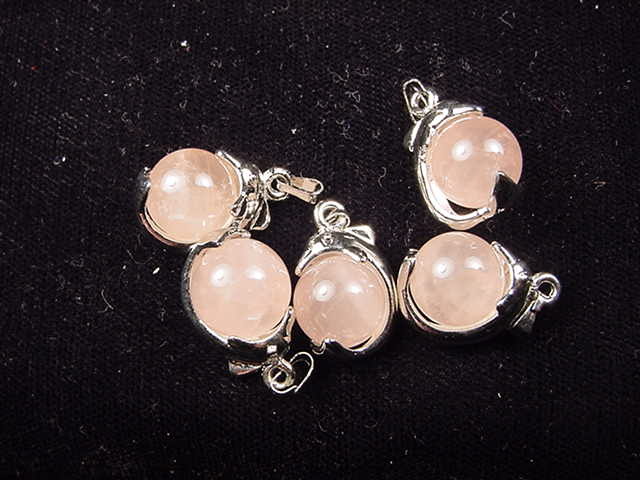 WP016 Rose quartz (10 pc)